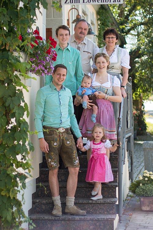 Familie Wirth - Zum Löwenbräu